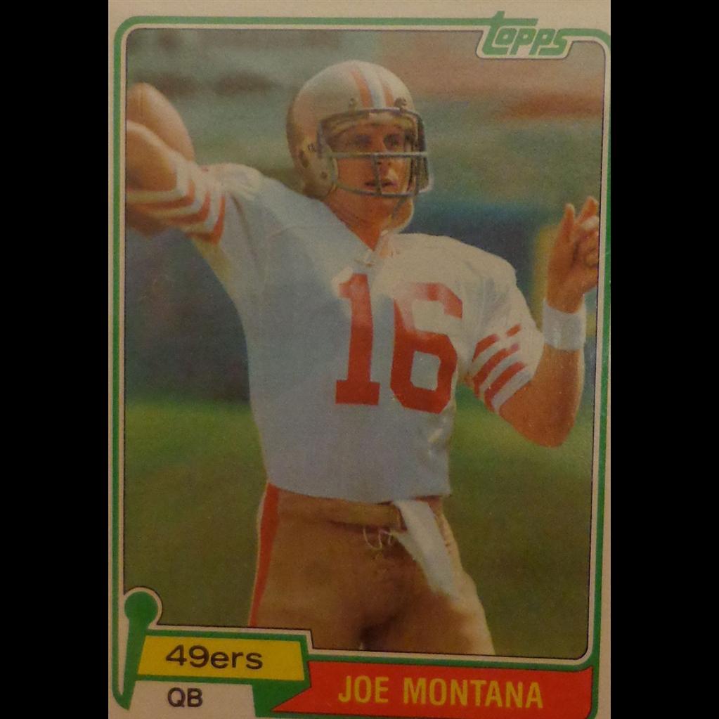 Vintage Joe Montana Rookie Card San Francisco 49ers PSA