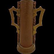 SALE Fabulous Scandinavian Arts & Crafts Copper Vase Viking Cup