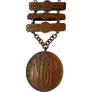 Early Pennsylvania National Guard Shooting Medal Qualification Ladder Badge