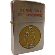 SOLD Vietnam Era Zippo Lighter US Army Forces Southern Command Military