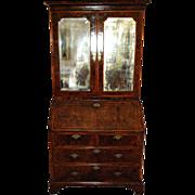 SALE George I Walnut Bureau Cabinet, Secretary, or Desk, from Christies