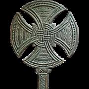 Large Hand-carved Celtic Cross