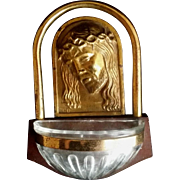 Face of Christ Holy Water Font