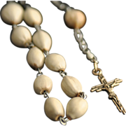 Italian Job's Tears Rosary Chaplet