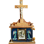 1904 Stations of the Cross and Sick Call Set