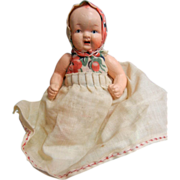 Vintage Small Baby Doll Made In Occupied Japan