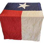 SOLD Vintage Texas State Flag USA Large