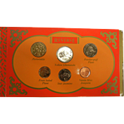 Vintage 1996 Singapore Uncirculated Coin Set Hongbao Pack