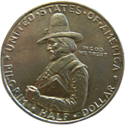 1920 Pilgrim Tercentenary Celebration Half Dollar
