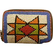 Fine Hand Beaded Key Wallet from Warm Springs Oregon