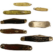Collection of 8 Pocket Knives