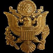 Vintage Gold-Tone American Emblem Hat Pin