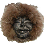 Signed Vintage Eskimo Mask by IRA 1989 Alaska