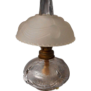 Lincoln Drape Miniature Oil Lamp with Shade