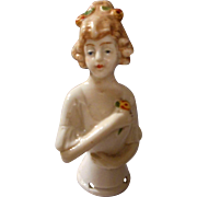 SALE All Bisque Half Doll, Germany