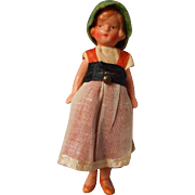 SALE Adorable German All Bisque Doll House Doll