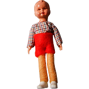 SALE German Pose-able Doll House Doll