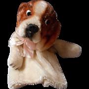 "Steiff Puppet ""Cockie"", Mohair"