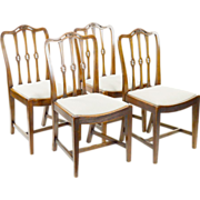 Antique English Dining Chairs - Arts & Crafts