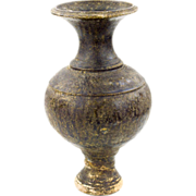 Antique Pedestal Vase Khmer Pot