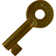 SALE MN & S, Minneapolis Northfield & Southern Railroad Brass Switch Key Sale