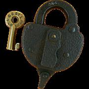 SOLD Cleveland Cincinnati Chicago & St Louis Railroad Lock & Key Set