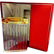 SOLD ST. Dupont Silver Jeroboam Cigar Lighter