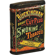 Buckingham Bright Cut Plug Smoking Tobacco Tin (Trial Package).