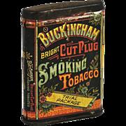 Buckingham Bright Cut Plug Smoking Tobacco Tin (Trial Package).