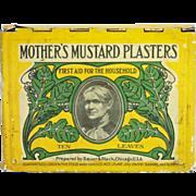 Mother's Mustard Plasters Tin
