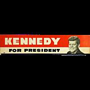 Kennedy Bumper Sticker