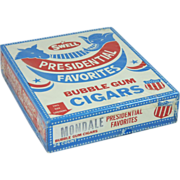 SOLD Walter Mondale Swell Bubble Gum Cigars (Box)