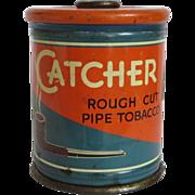 Catcher Rough Cut Pipe Tobacco Tin