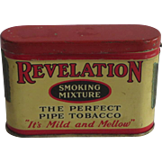 Trial Size Revelation Pipe Tobacco Tin