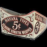 Havana Fives Tin Store Display