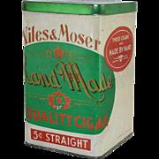 Niles & Moser Cigar Tin