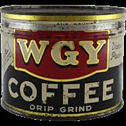 WGY Litho Coffee Tin