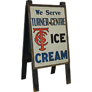 Turner Centre (Ice Cream) Sandwich Board