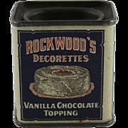 Rockwood's Trial Size Decorettes Tin