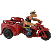 Hubley Cast Iron Popeye Spinach Delivery Cycle