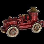 A.C. Williams Cast Iron Pumper Fire Engine
