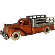 Hubley Stake Truck with Nickel Platted Grill and Rack