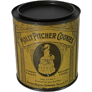 Vintage Mother Pitcher Cookies Tin
