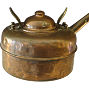 SOLD Simplex Solid Copper English Tea Kettle