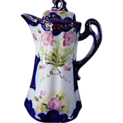 Nippon Hand Painted Chocolate Pot