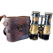 Lemaire Adjustable Binoculars with leather case