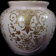SALE Cambridge Crown Tuscan Portia 3400 Gold Encrusted Rose Bowl