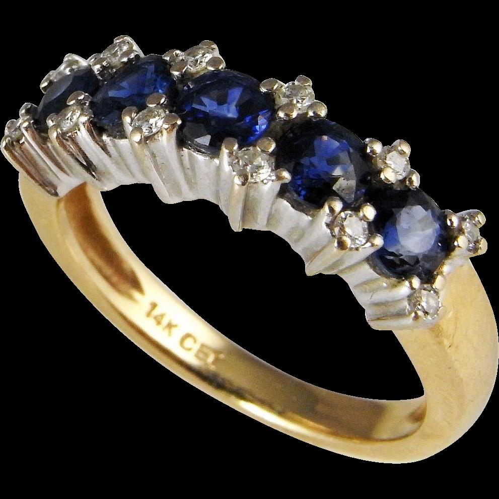 Sapphire And Diamond Engagement Rings Australia