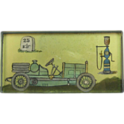 Vintage Roadster Automobile Paperweight, Visible Pump C.1920.