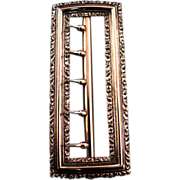 Victorian  Heavy Gold Filled Ladies Buckle